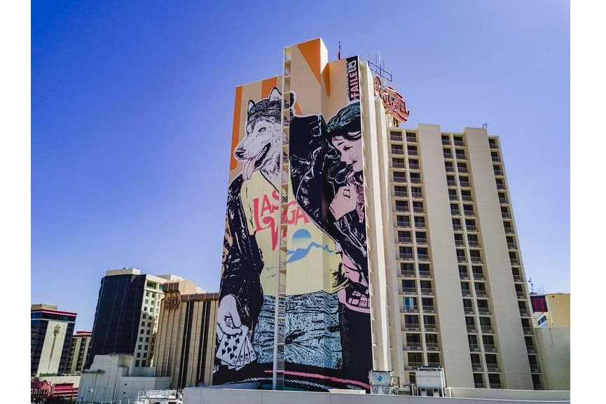 Faile mural completed