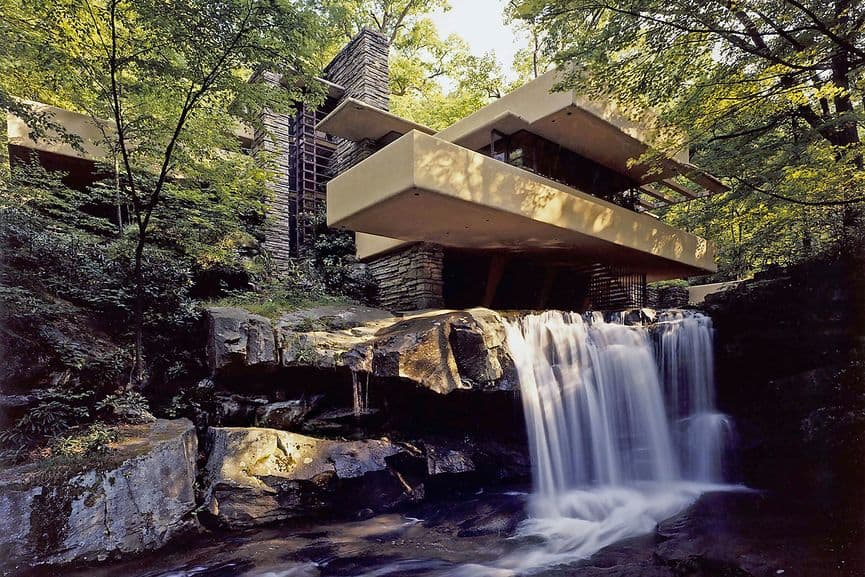 Fallingwater in Mill Run, Pennsylvania