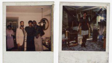 Family photos of Sandra Bush