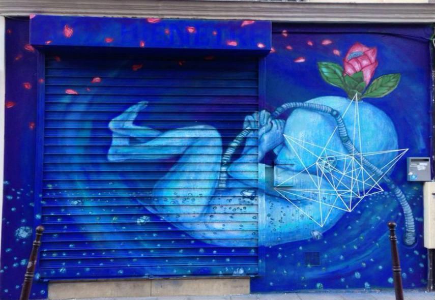 Fansack - Baby bleu, 2015, Paris