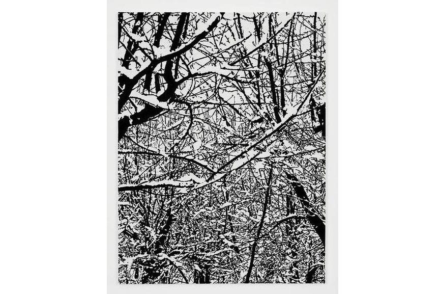 Farhad Moshiri - SNOW FOREST 002A