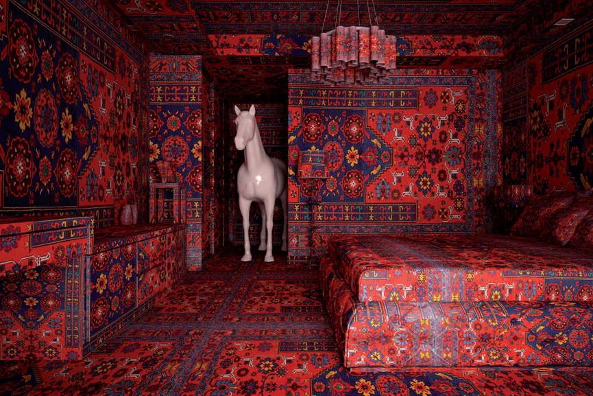 Farid Rasulov -Rabouan Moussion Galerie 2014