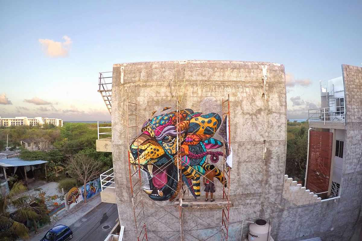 street art and murals Farid Rueda