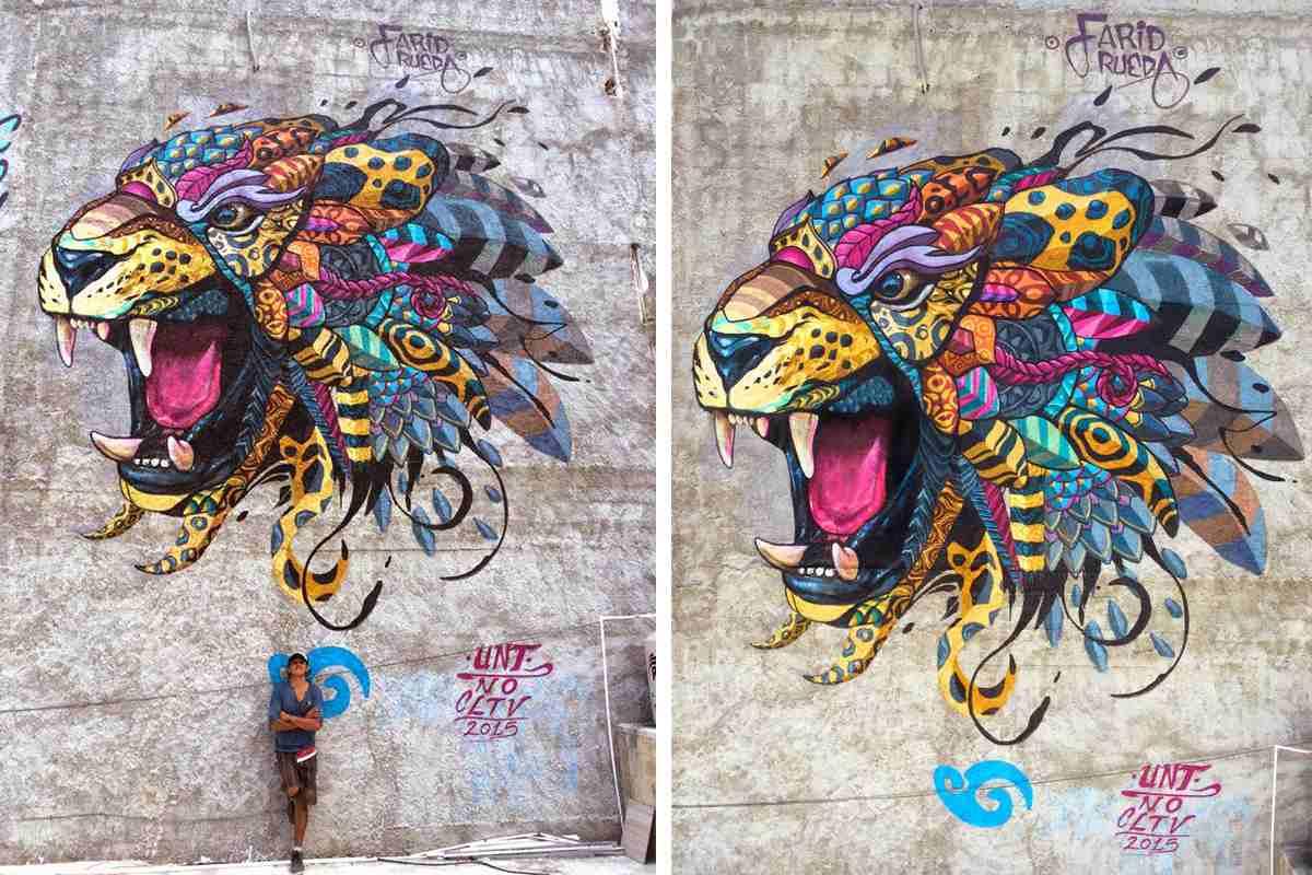 Street art and murals Farid Rueda