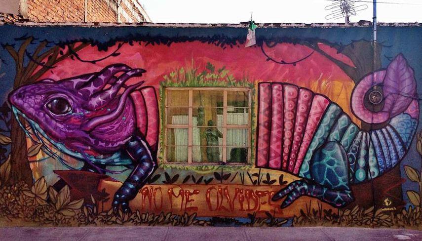 Farid-Rueda-No-me-olvides-Dont-forget-me-Cholula-Mexico-2014 - mural arte pintura más facebook 2015 2016
