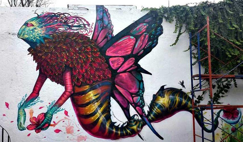 Farid-Rueda-Psicopompo-Mexico-City-2014 - mural arte pintura más facebook 2015 2016