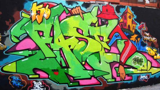 Fasim - street art is Barcelona