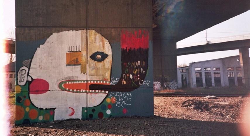Fat Kid Beny - Mural, Belgrade, Serbia