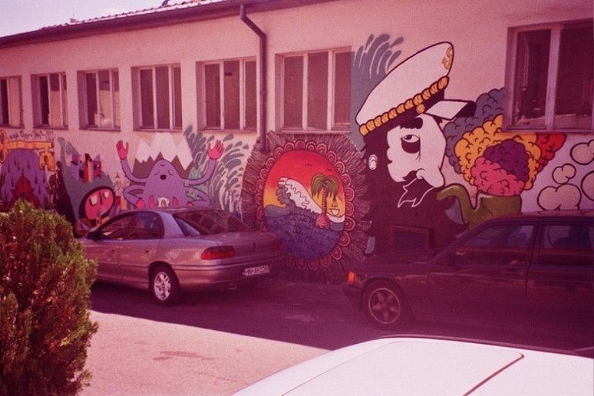 Fat Kid Beny - Mural in Belgrade, Serbia