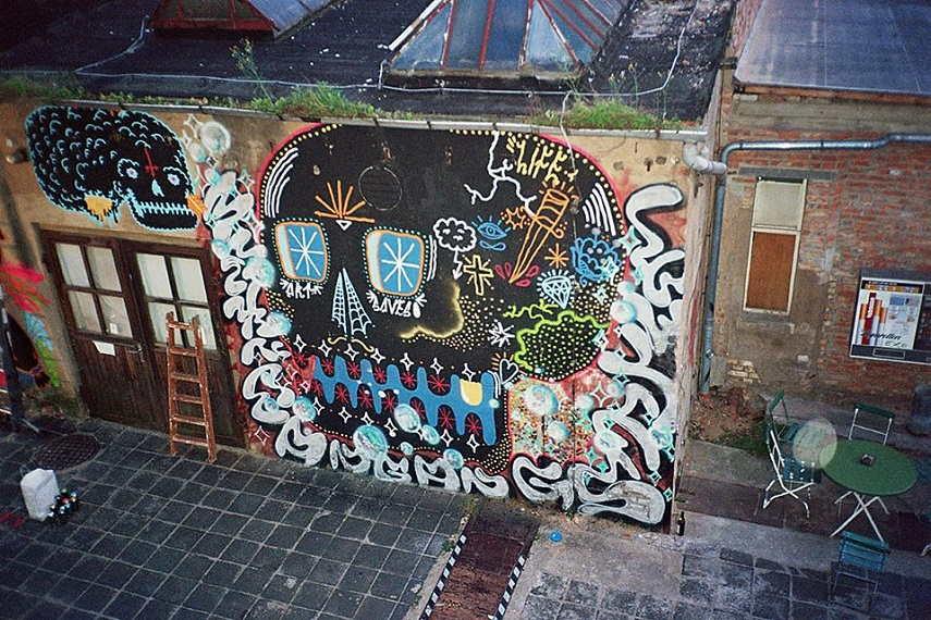 Fat Kid Beny - Mural in Belgrade