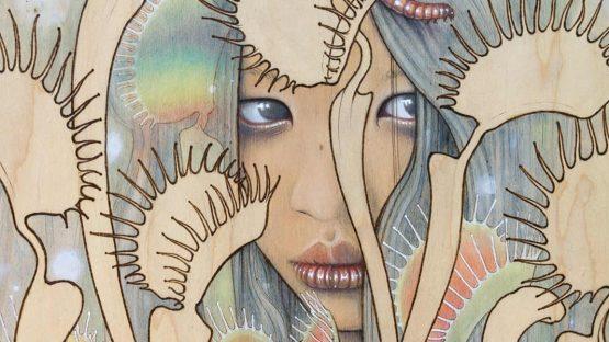 Fay Helfer - Dionaca - Venus Fly Trap (detail)