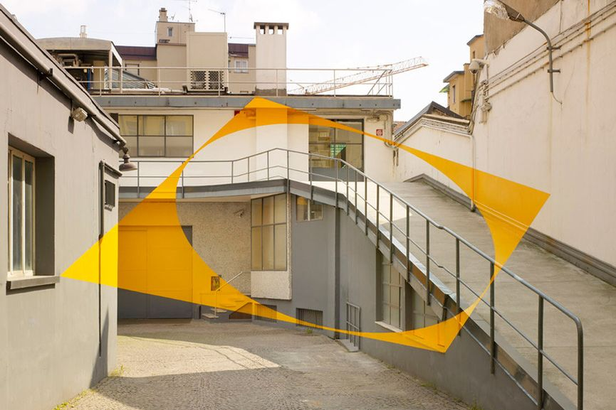 Felice Varini À ciel ouvert exhibition at MAMO — urdesignmag |Felice Varini Him