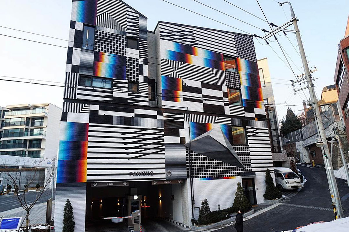Felipe Pantone in Seoul, South Korea