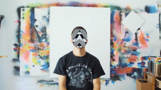 Felipe Pantone - portrait by Selina Miles