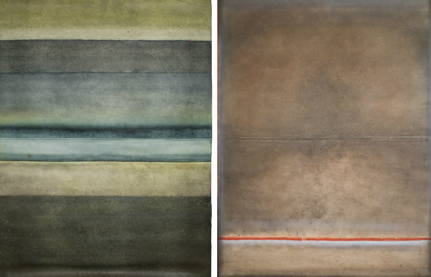 Ferle - Untitled XXVII (left) - Untitled XXXII (right)