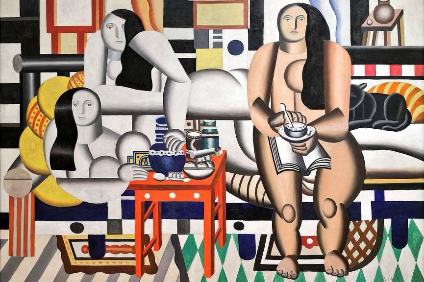 Fernand Léger - Three Women, 1921 (detail) - Image via myfreewallpapersnet