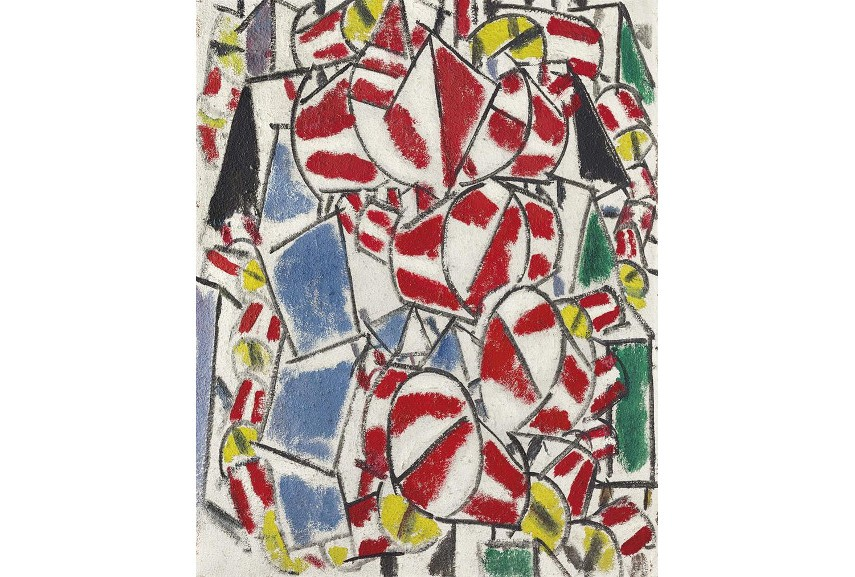 Fernand Leger - Contraste De Formes, 1913