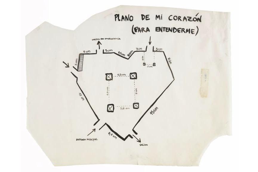 Fernanda Laguna, Plano de mi corazón (para entenderme) (Map of My Heart [To Understand Me]), 2001