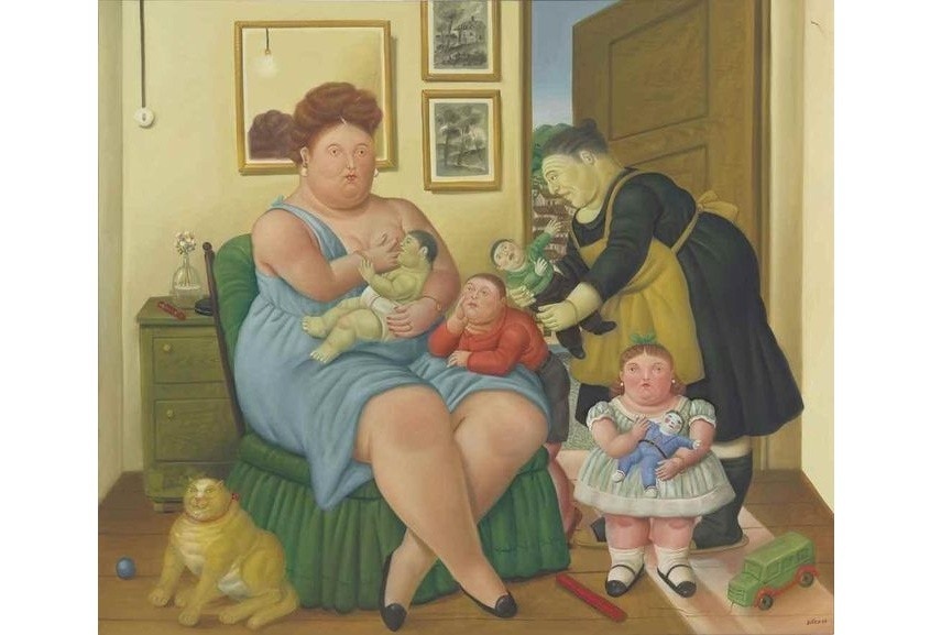 fernando botero was born in 1932