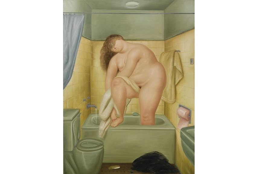 Botero paintings often explore the subject of the self in one's home. How would they look like in 2019?