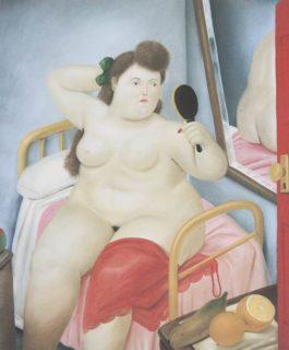 Fernando Botero-La Toilette-1982