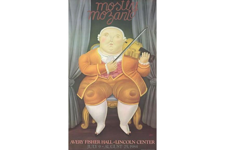 Fernando Botero - Mostly Mozart