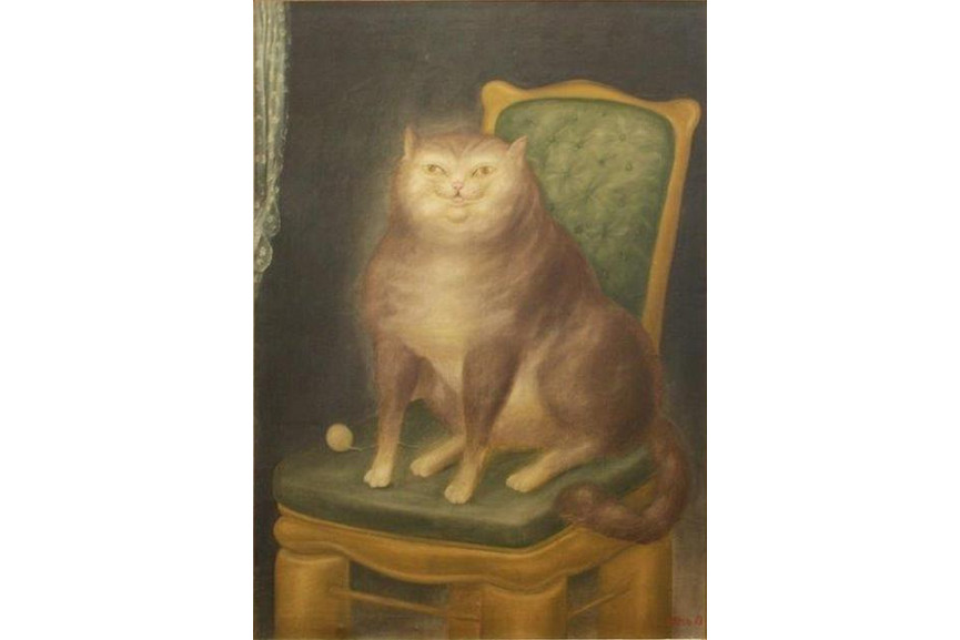 Fernando Botero - The Cat