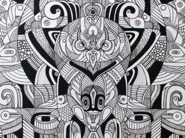Fernando Chamarelli - Força Criativa Illustration (detail)