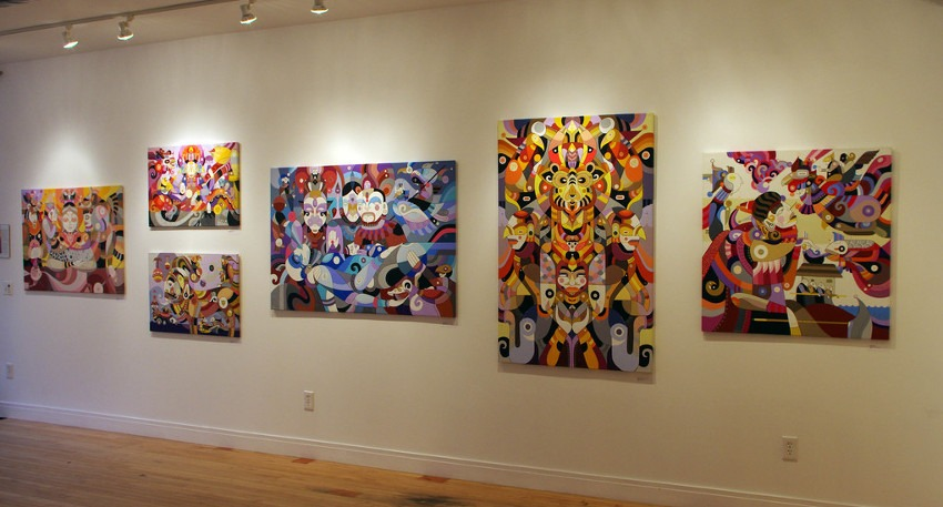 Fernando Chamarelli - solo show at Vertical Gallery, 2013, installation view