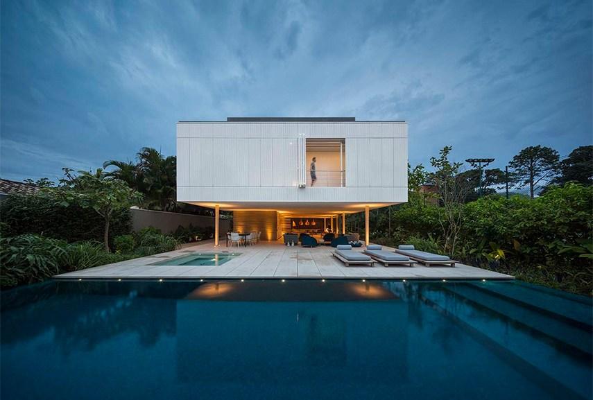 Fernando Guerra - White House by Studio MK27