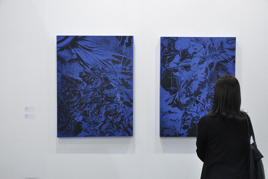 Feuer Mesler at Artissima 2015 a