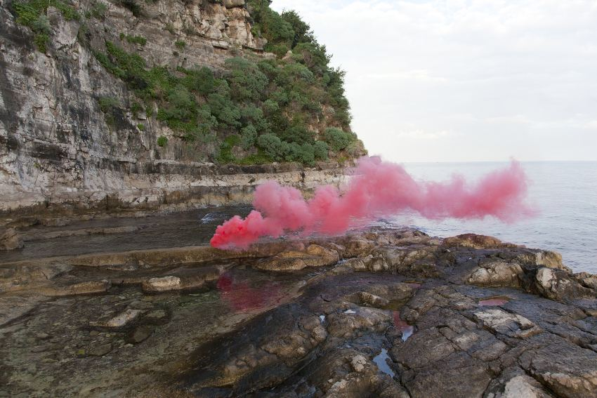 Filippo Minelli – Shape C-Z, 2013, from the Silence/Shapes series, photo credits - Paddle8