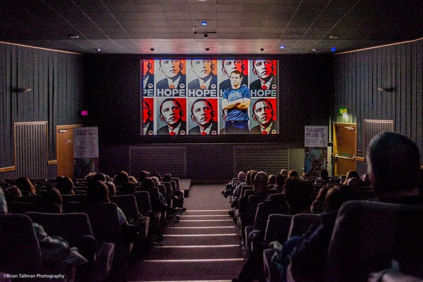 Film Screening, Nuart Aberdeen 2018 © Brian Tallman Photography