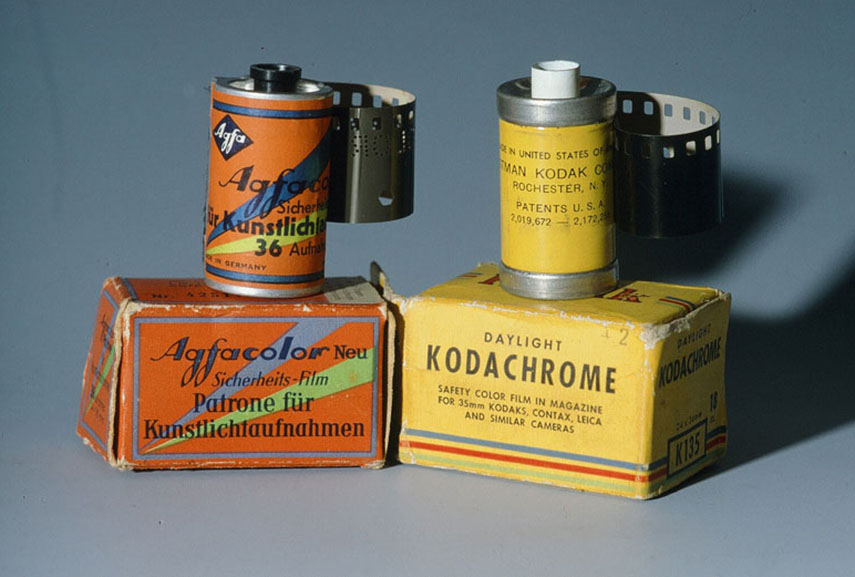 Color photography experienced quite an evolution with the invention of film rolls of Kodachrome and Agfacolor
