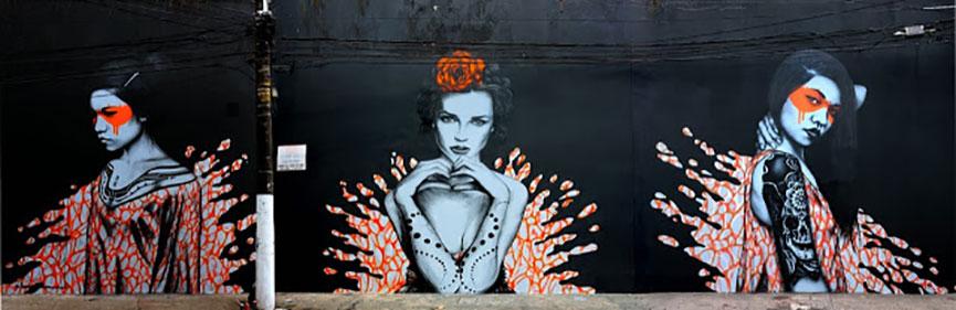 Street art in Brasil