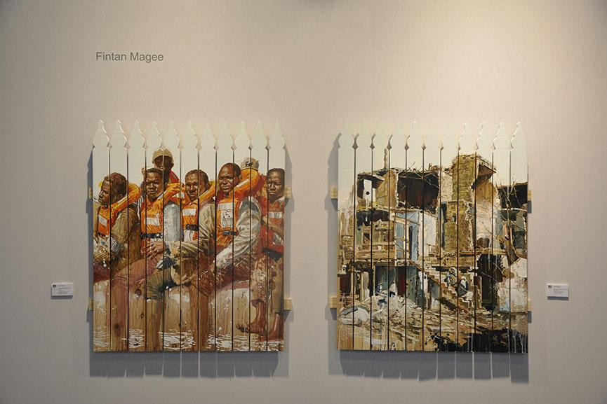 Fintan Magee, Galerie Mathgoth