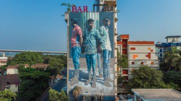Fintan Magee in India