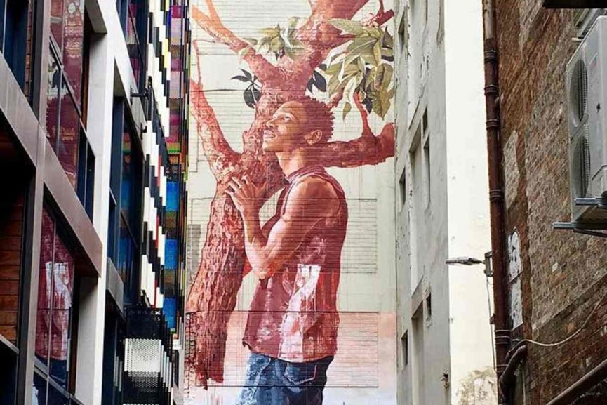 Fintan Magee in Melbourne, Australia, 2016