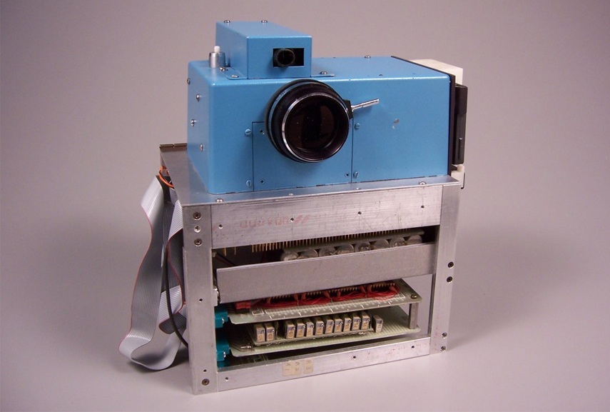 the first camera was invented by an american and it didn't have video options