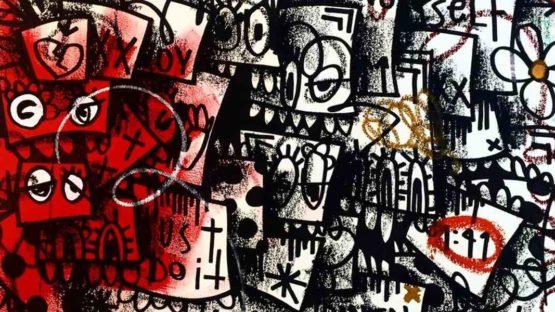 Flore - detail of an artwork