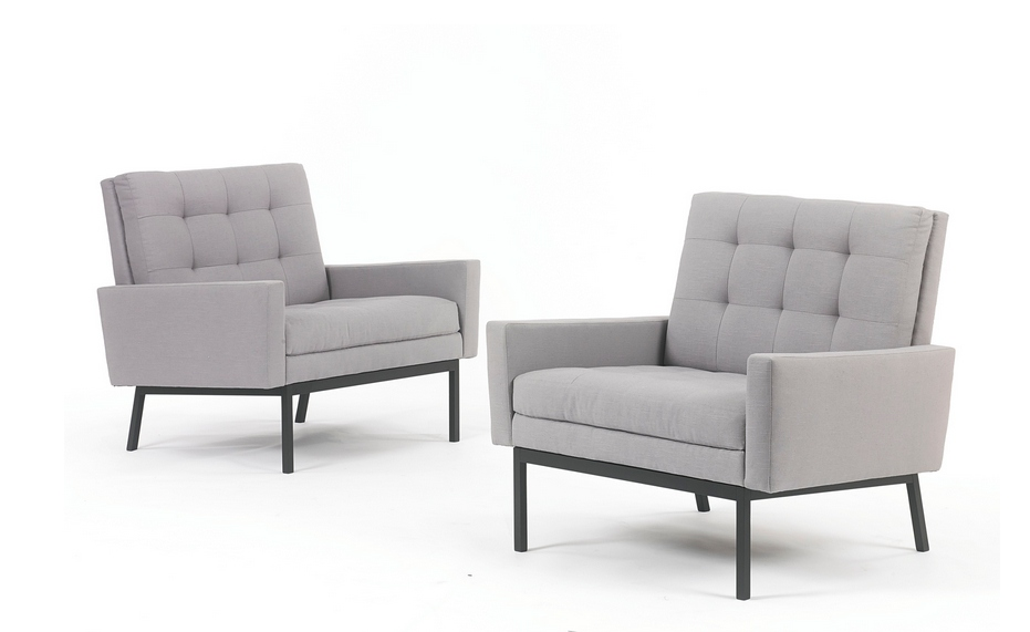 Florence Knoll - Pair Of Lounge Chairs-1954