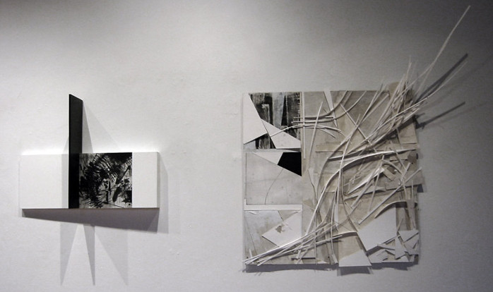 Florian Foerster and Lara Loutrel - Frames of References of Frames, the Godine Gallery Boston, 2011, installation view, photo credits - Florian Foerster