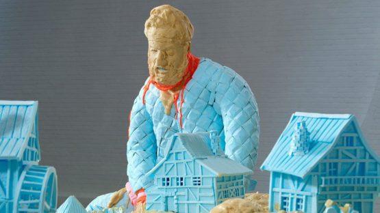 Folkert de Jong - The Devil and The Architect - Image via artofothers