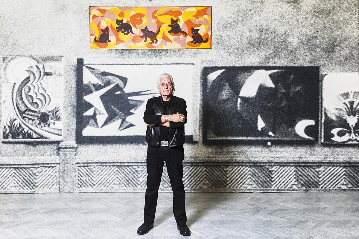 Fondazione Prada - Germano Celant - Mostra Post Zang Tumb Tuuum - Foto Ugo Dalla Porta