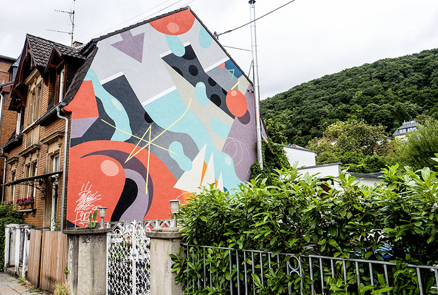 Form76 and Sweetuno mural