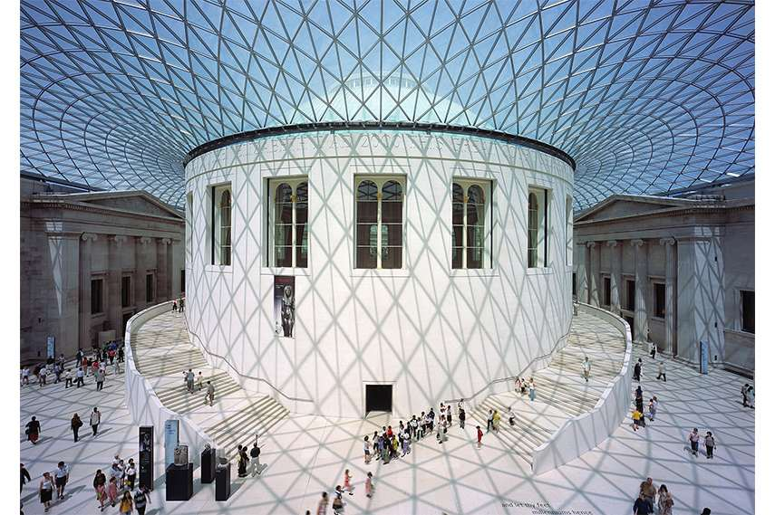 Foster And Partners - Great Court at the British Museum, 1994-2000, London, UK, Photo: Nigel Young, Foster And Partners