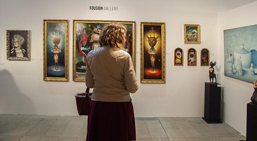 Fousion Gallery, Urvanity Art 2020 Madrid
