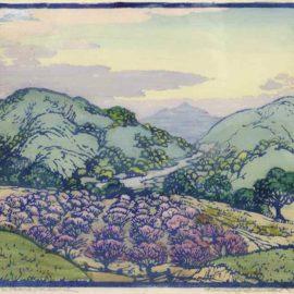 Frances Hammell Gearhart-The Peach Orchard-1929