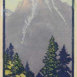Frances Hammell Gearhart-Twilight Nears-1930