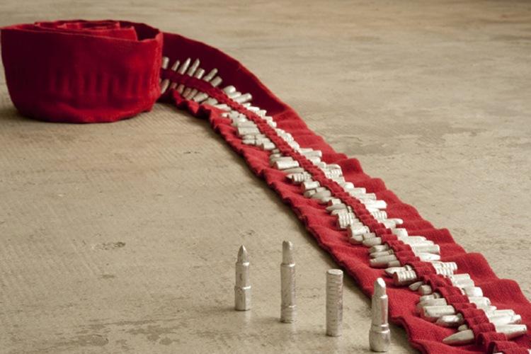 Francesca Gagliardi, Galerie Geraldine Banier, installation